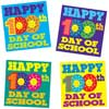 Happy 100th Day Of School Stickers