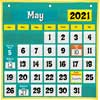 Space-Saver Calendar Pocket Chart™