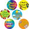 I Had A Great Day! Jumbo Stickers