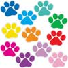 Student Name Paw Print Magnets