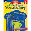Getting To The Roots Of Content-Area Vocabulary Book - Grade 3