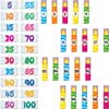 Counting Candles To 100th Day Magnets Set