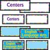 Centers EZ-Tuck Clip 'N' Track Pocket Chart™ With Center Labels