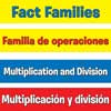 Multiplication And Division Fact Families Pocket Chart™ - English/ Spanish
