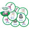 Rock, Paper, Scissors Math Game - Addition And Subtraction Through 20