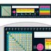 Chalkboard-Style Self-Adhesive Deluxe Plastic Desktop Helpers™ - Intermediate