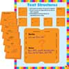 Common Core Text Structures 6-In-1 Poster Set And Study Stickies Kit