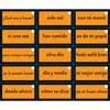 EZread™ Mini tarjetas de palabras de uso frecuente (juego de tarjetas anaranjadas) (Spanish High-Frequency Word Mini Flash Cards Orange Set)