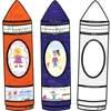 Ready-To-Decorate® Kit de Bienvenida crayones de colores (Spanish Crayon Welcome Kit)