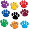 Colorful Paw Prints Mini Bulletin Board Accents