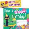 Pete The Cat® Groovy Birthday Bookmark Awards