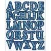 Blue Harmony Alphabet Stickers