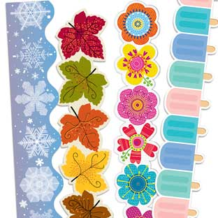 Bulletin Board Border Trim Bulletin Boards Classroom Decorations