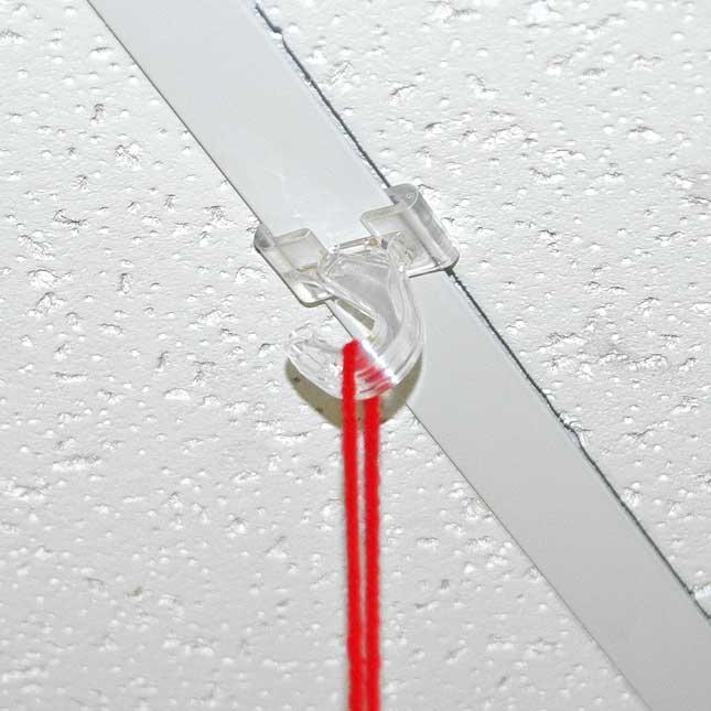 Plastic Ceiling Hooks