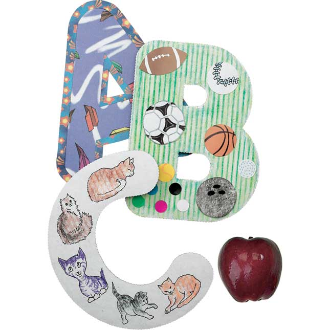 Collage Letters 9-Inch