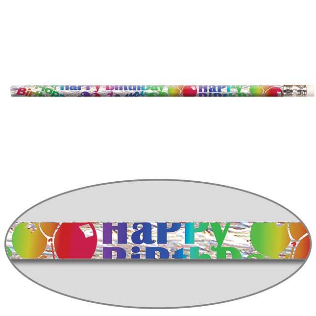 Birthday Blitz Pencils