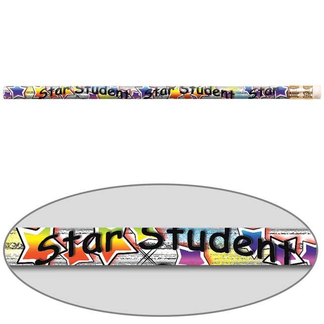 Star Student Pizzazz Pencils