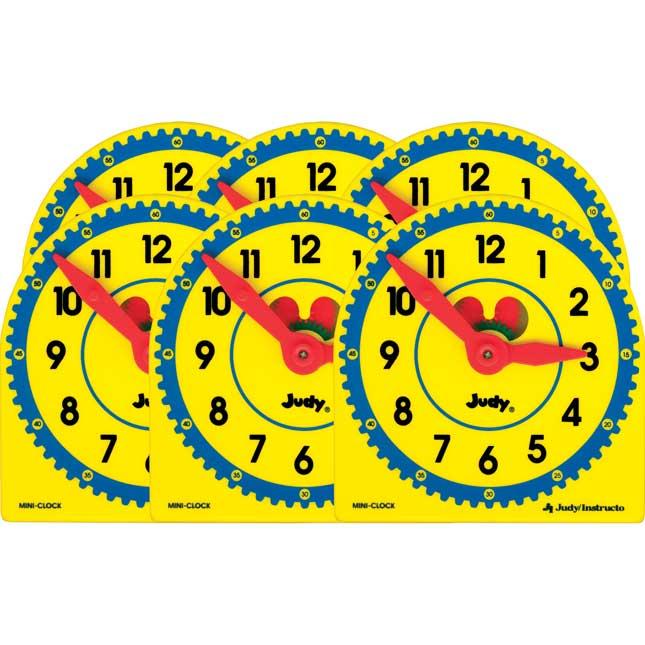 Judy® Plastic Clock Class Pack