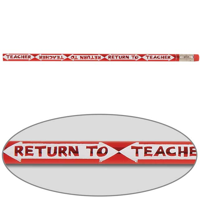 Return To Teacher Pencils