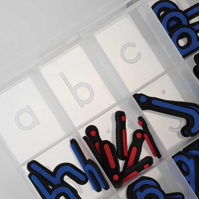 Store More® Alphabet Storage Case