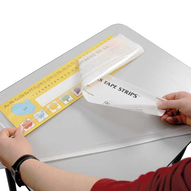 EZ Fit Desktop Helper Tape Strips™