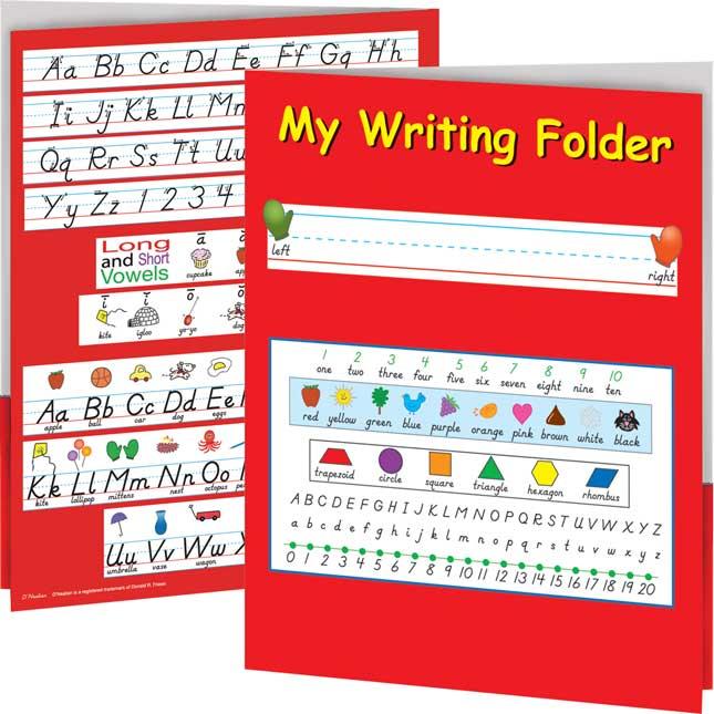My Writing Folder - D'Nealian
