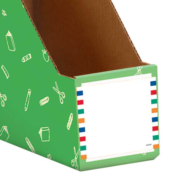 Store More® Magazine Holder Adhesive Labels