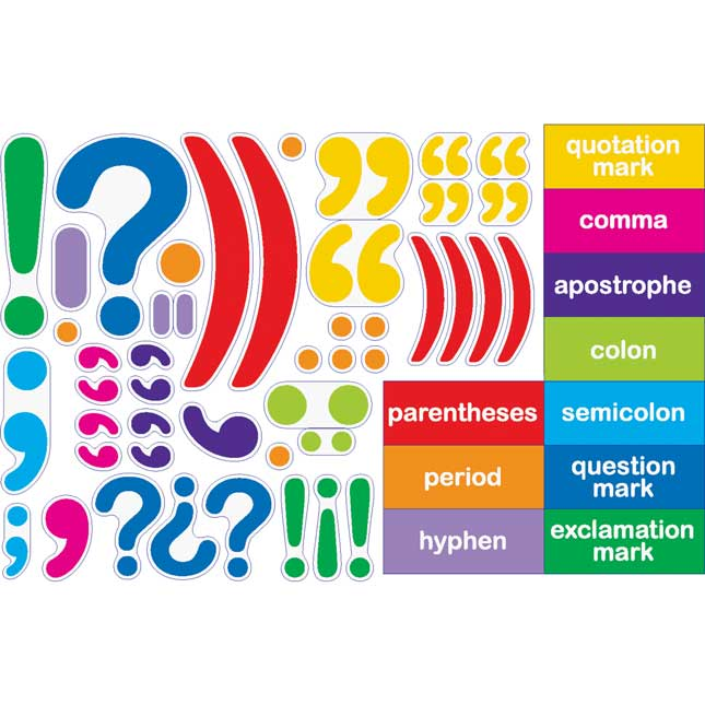 Playing With Punctuation Magnets