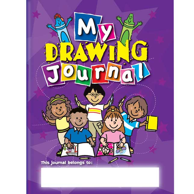 Picture This! Jumbo Drawing Journals - Set of 12