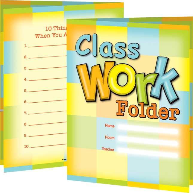 Classwork Folders