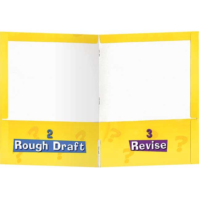 Writing Process 4-Pocket Student Folders - Set of 12