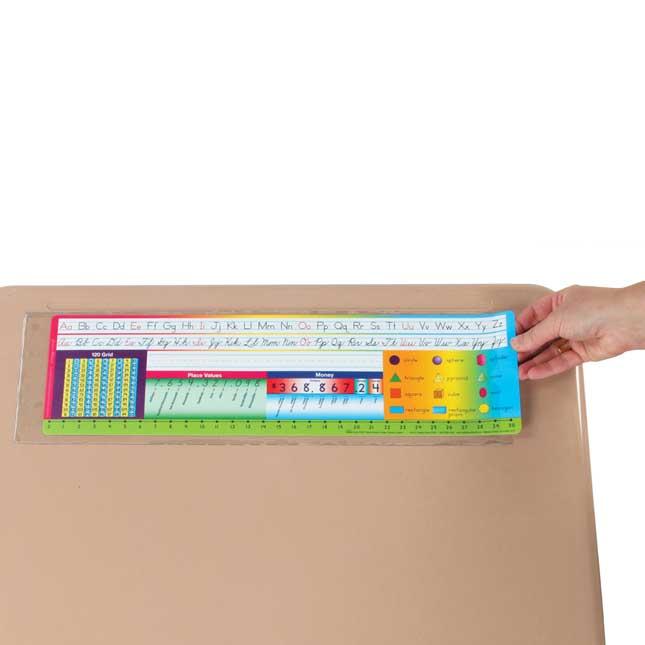 """Desktop Helper™ 18"""" Self Adhesive Vinyl Sleeves"""