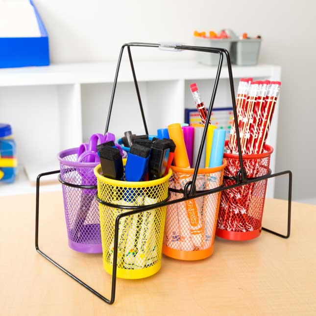 Store More® Wire Works Classroom Supply Caddy