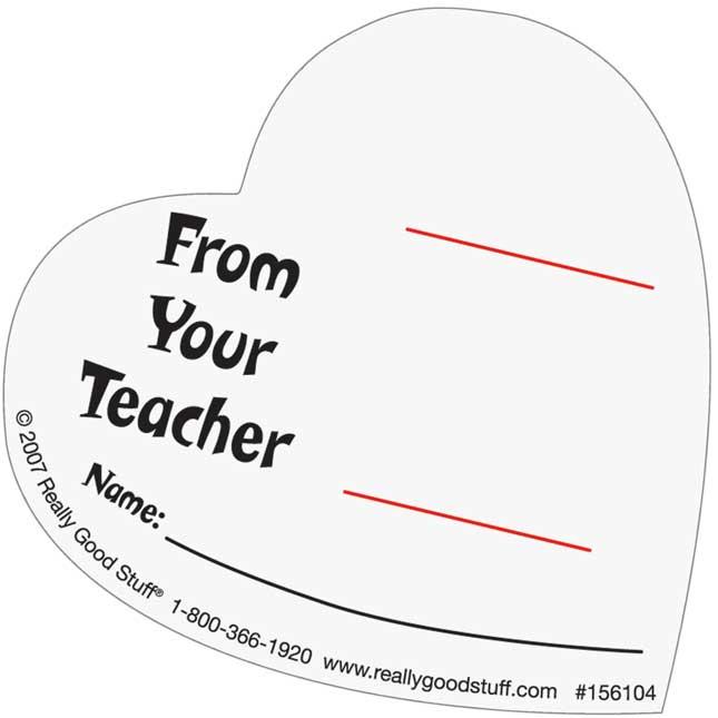Valentine Heart Pencil Tux and Pencils