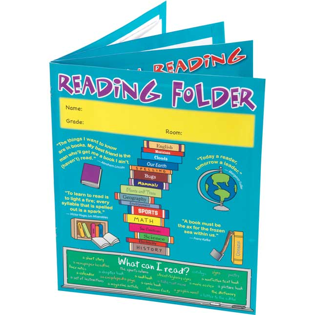 Reading Reference 4-Pocket Folder Intermediate