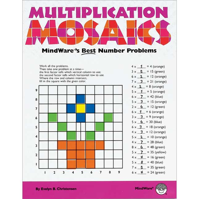 Multiplication Mosaics Book
