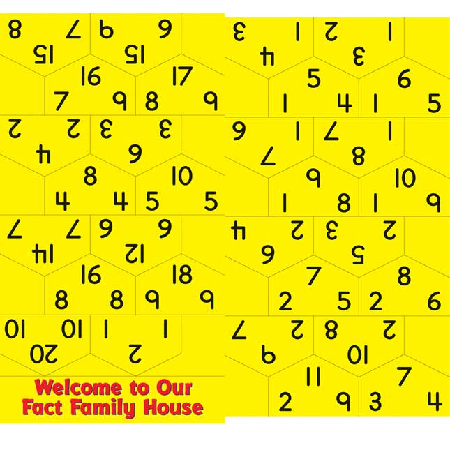 Fact Families Pocket Chart™