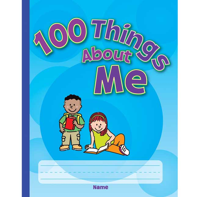 100 Things About Me Structured Writing Journals