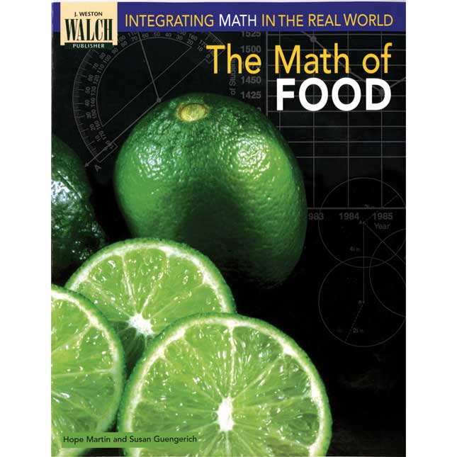 The Math Of Food Book