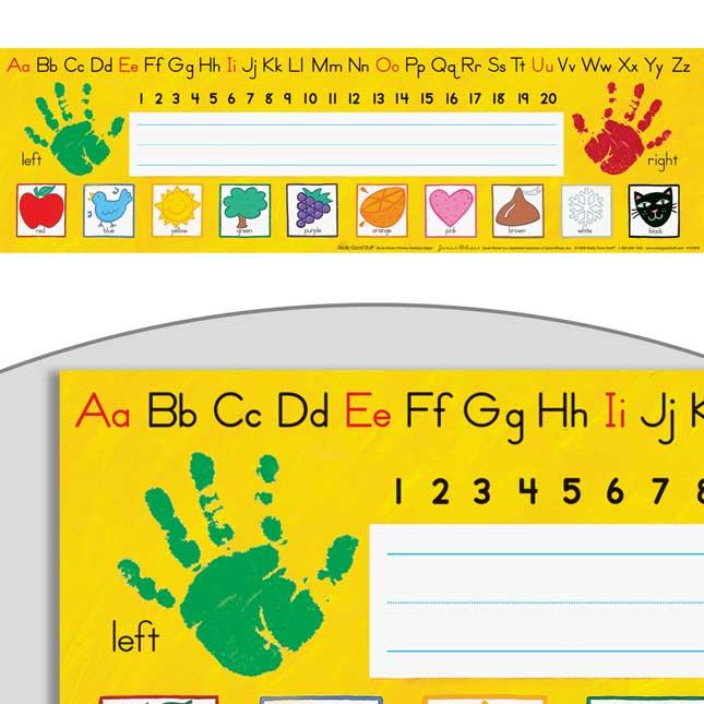 Early Elementary Self-Adhesive Deluxe Plastic Desktop Helpers™- Set Of 24