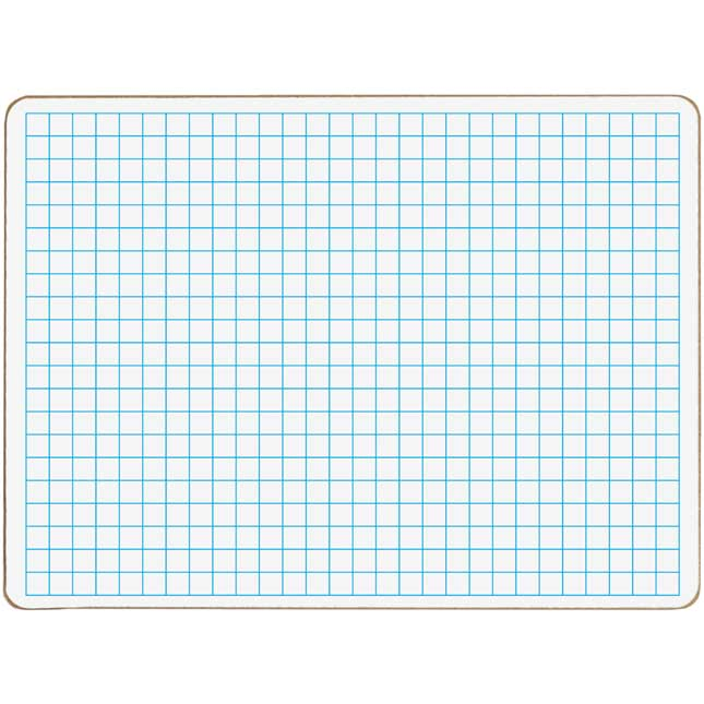 Centimeter Grid Dry Erase Board Set