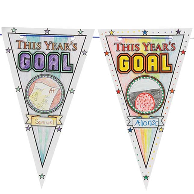Ready-To-Decorate® Goal Pennants