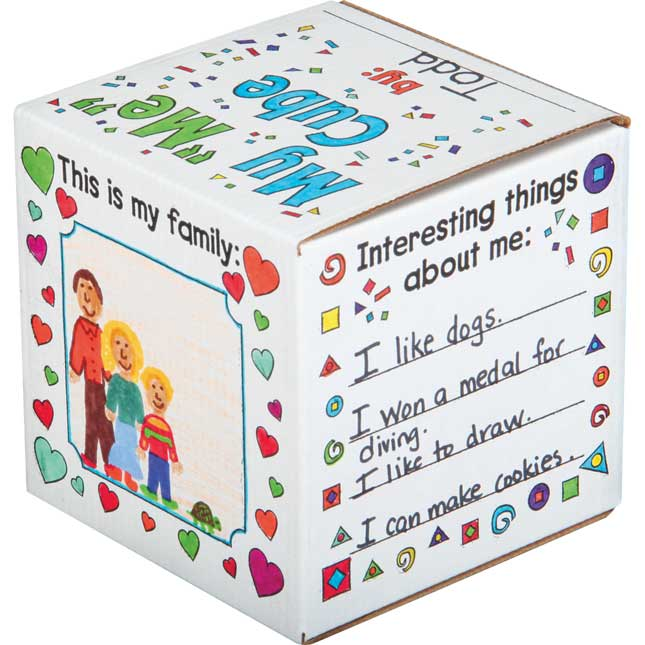 """Ready-To-Decorate® My """"ME"""" Cube Set"""