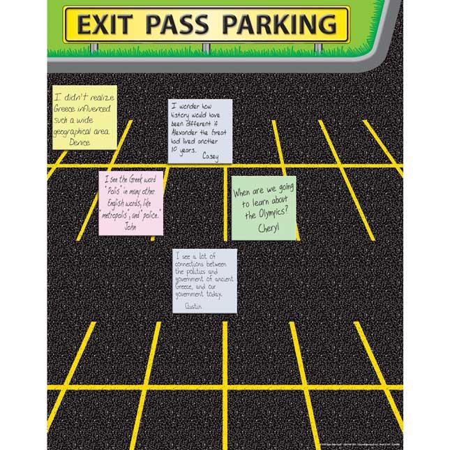 Exit Pass Parking Poster