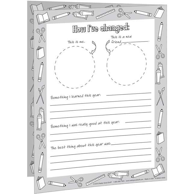 Ready-To-Decorate® First Day-Last Day Letters Kit