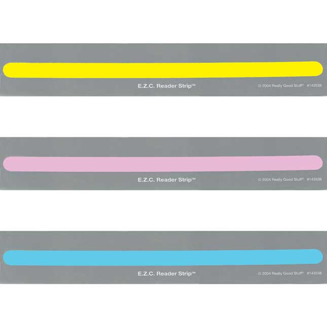 E.Z.C. Reader Strips™ - 90 Strips