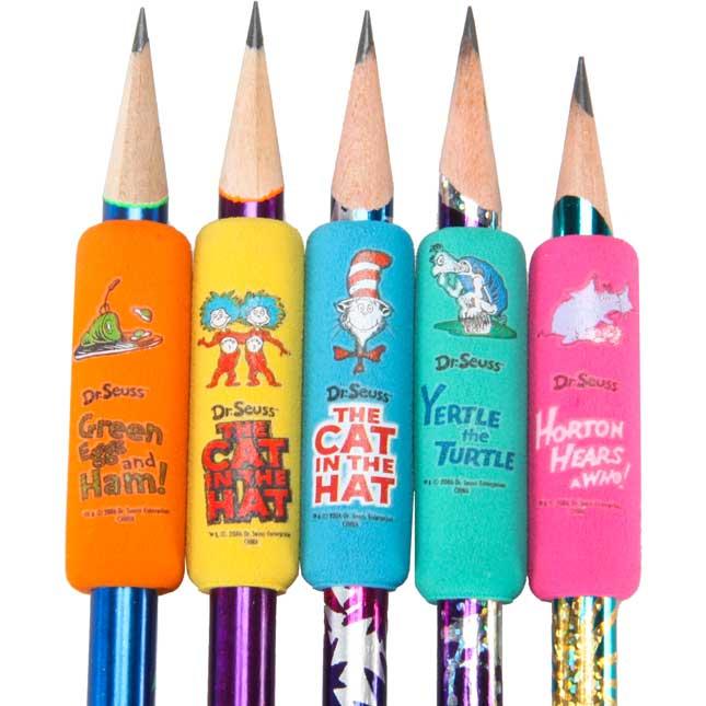 Dr. Seuss™ Pencil Grips - set of 12