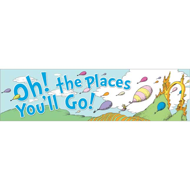 Oh, The Places You'll Go!™ Banner