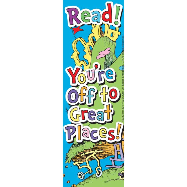 Oh, The Places You'll Go!™ Bookmarks