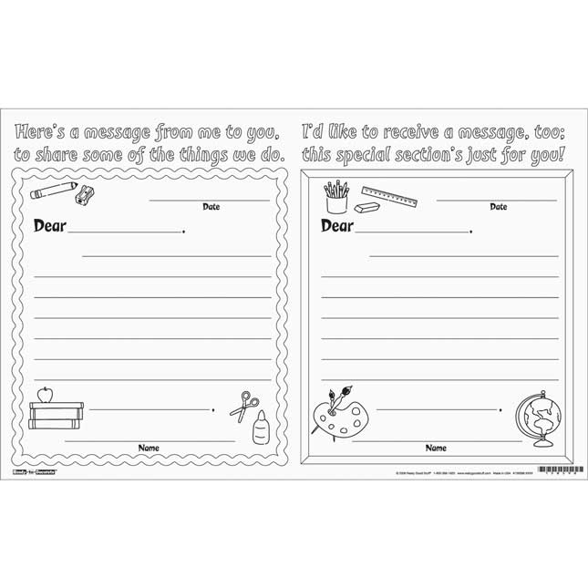 Ready-To-Decorate® Parent Night Note Swap
